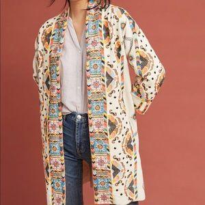 Anthropologie Maeve embroidered jacket